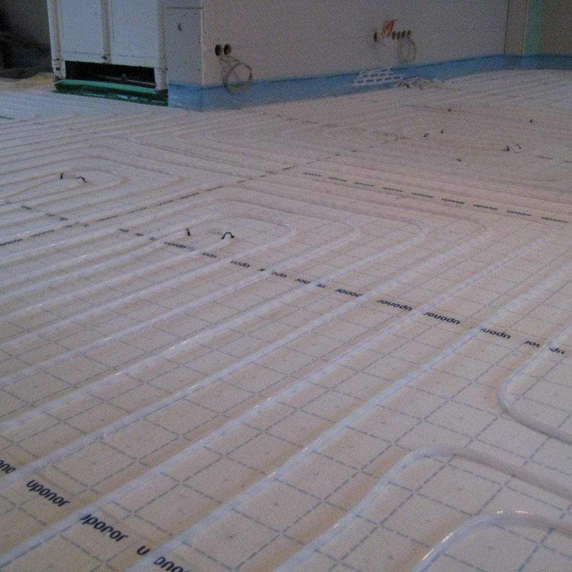 Fußbodenheizung Fussbodenheizung Klettsystem