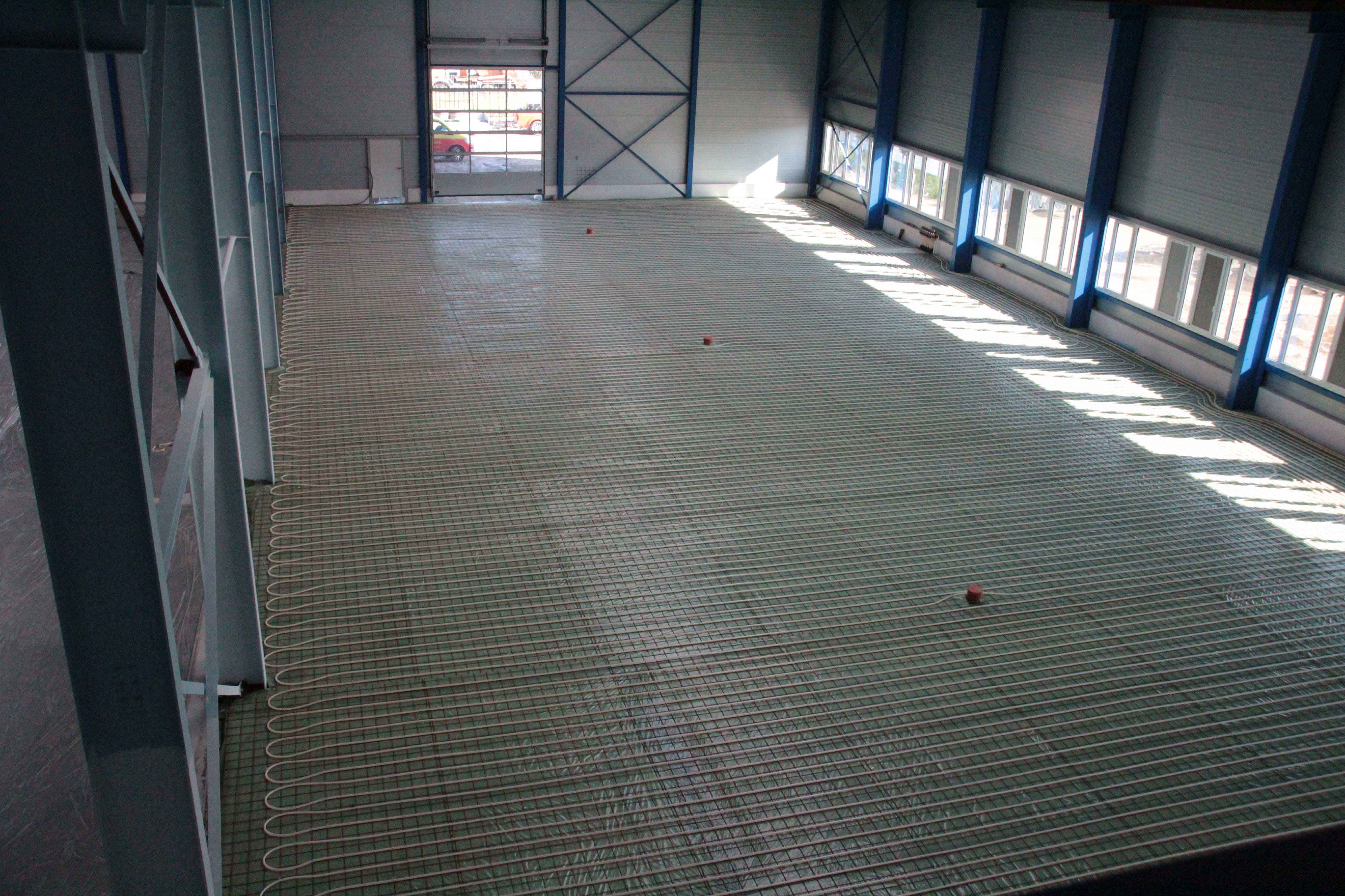Fußbodenheizung Fussbodenheizung Industrieflächenheizung