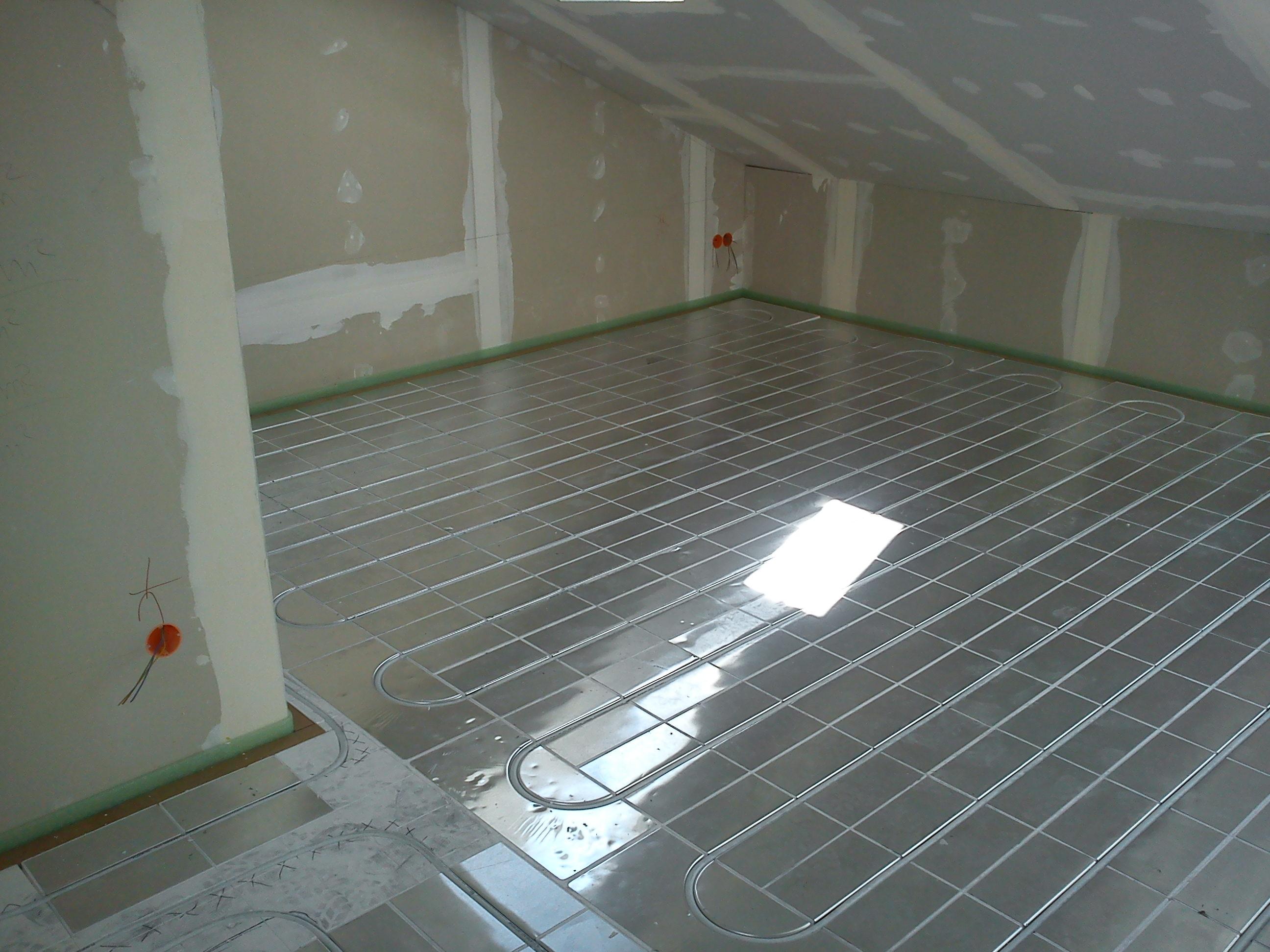 Fußbodenheizung Fussbodenheizung Noppensystem